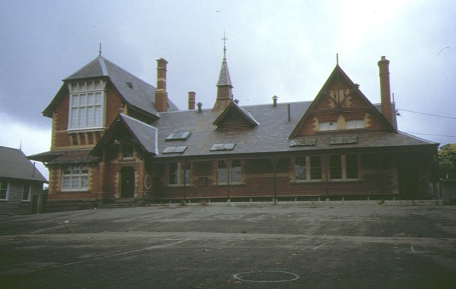 former primary school number 2120 long gully rear view