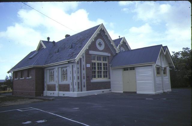 1 primary school number 461 burwood hwy burwood side view sep1984