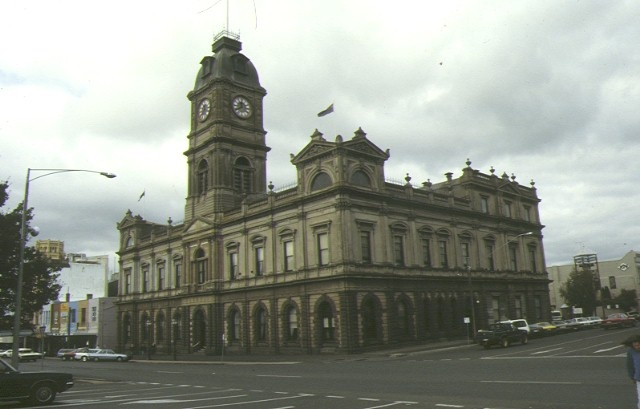 1 ballarat town hall exterior view 1993