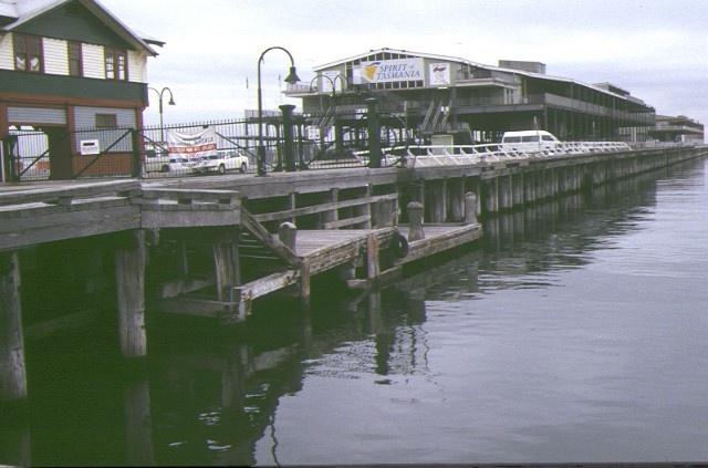 1 station pier port melbourne side view of pier