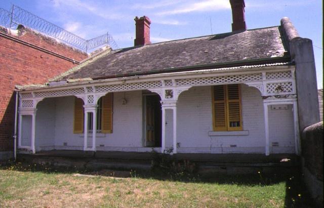 former hm prison challis street castlemaine govenors rsidence jan1996