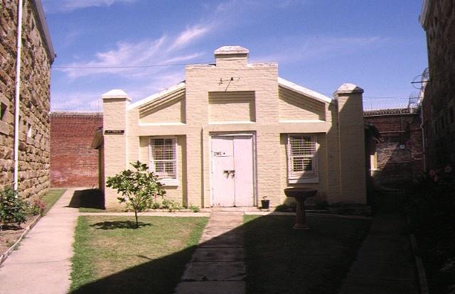 former hm prison challis street castlemaine industry building jan1996