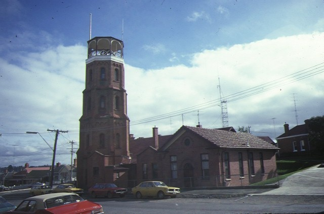 1 ballarat fire station front view aug1985