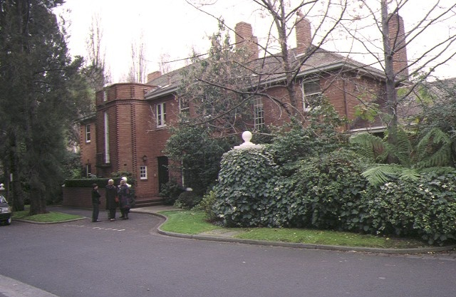 1 vice chancellors house university of melbourne parkville front view