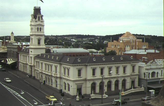 1 ballarat post office aerial view 1992