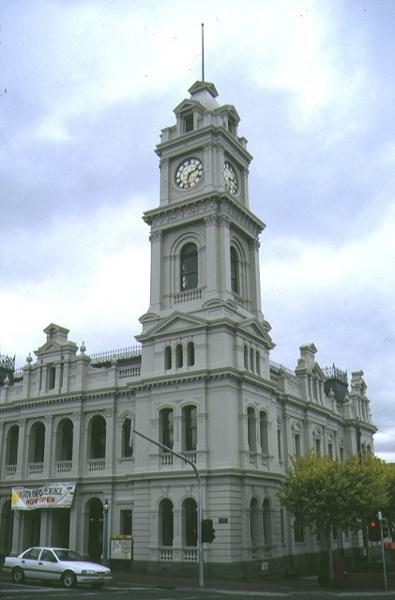 1 former geelong post office geelong clock tower apr1997