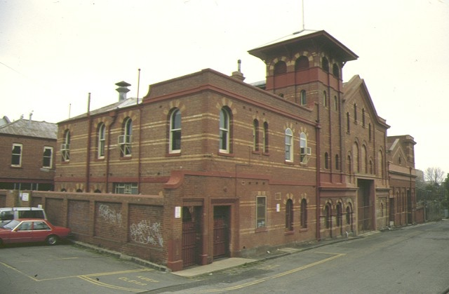 1 former richmond power station oddys lane richmond front corner elevation 1994