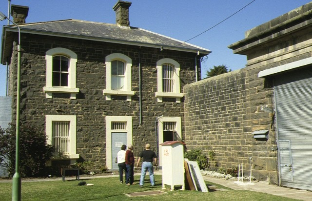 mental hospital ararat front gate & gatehouse