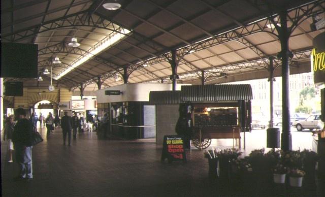 flinders street railway station complex flinders street melbourne interior along st kilda road