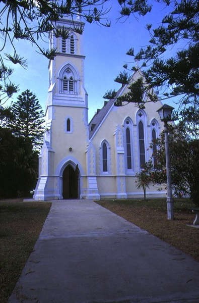 1 st george the martyr church & parish hall hobson street queenscliff front view