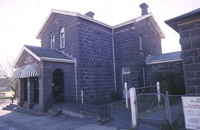 1 former kilmore post office powlett street kilmore front view