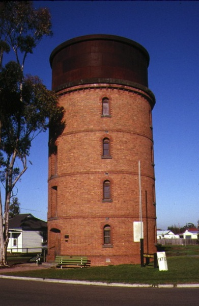 1 former railway water tower comyn avenue murtoa front view