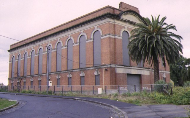 1 railway sub station off newmarket street flemington front view