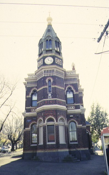 1 flemington post office wellington street flemington front elevation jun1996