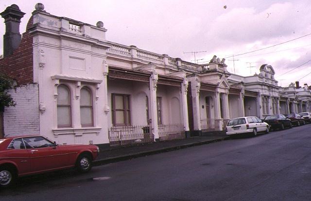 1 nathan's terrace wellington street flemington front view apr1996