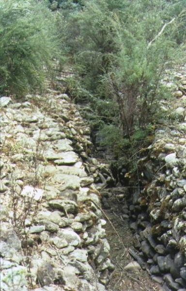 1 buckland river hydraulic gold sluicing paddock open cut