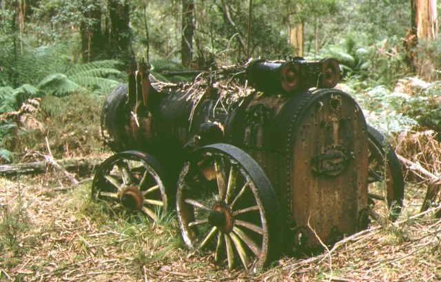 1 odells gully battery cassilis old engine