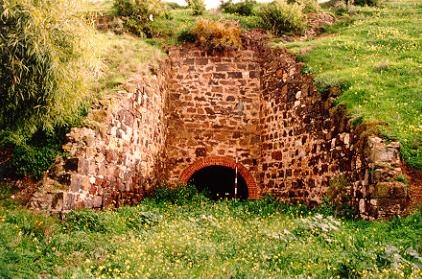 lime kiln complex limeburners point geelong front view