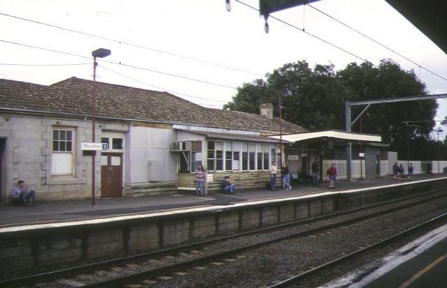 1 werribee railway station comben street werribee rear elevation oct1996