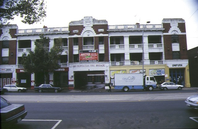 1 former number 3 carlton fire station swanston street carlton front view