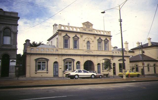 1 bendigo temperance hall bendigo front view apr1997