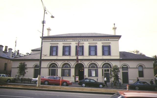 1 sandhurst trustees former post & telegraph office bendigo front facade apr1997