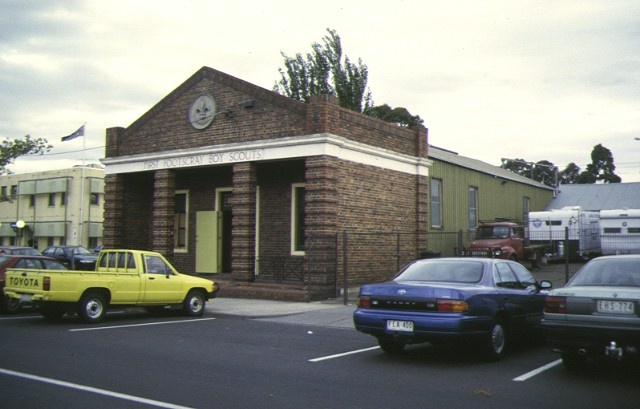 1 first footscray scout hall hyde street footscray front view apr1997