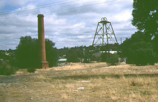 1 north deborah mine bendigo site view feb1990