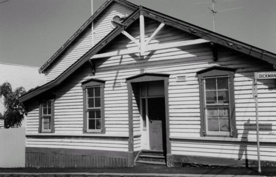 1 former richmond drill hall gipps street richmond front view