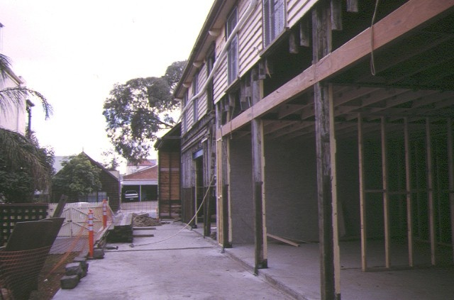 1 former richmond drill hall gipps street richmond rear view