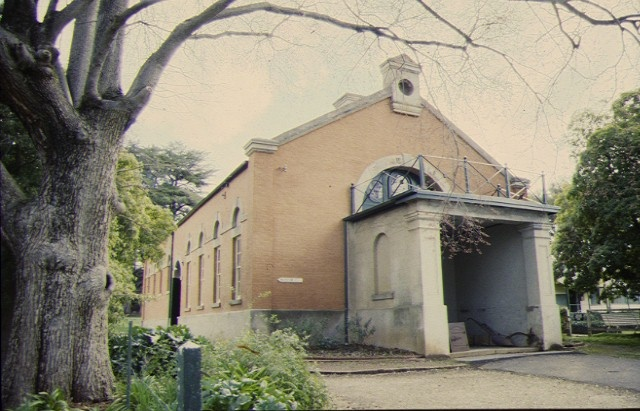 1 former market hall & royal oaks high street maldon side view aug1997