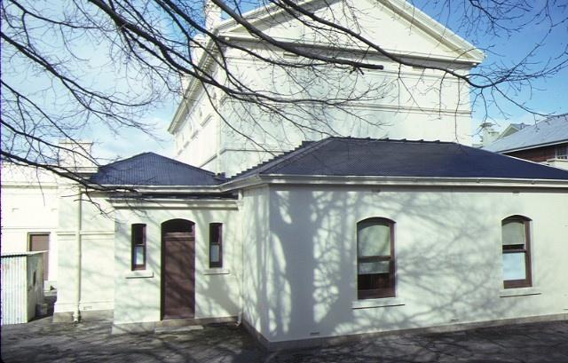 castlemaine court house lyttleton street castlemaine rear view aug1984