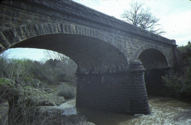 1 bridge over jackson's creek sunbury side view sep1984