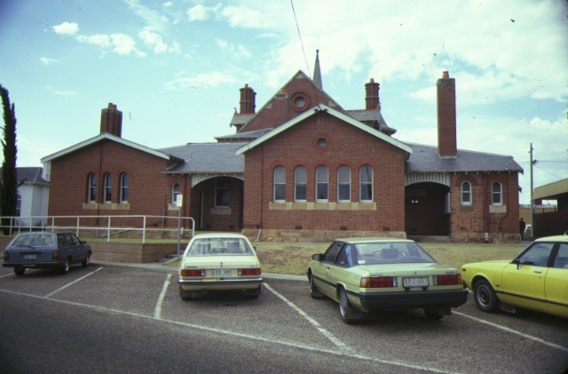bairnsdale courthouse nicholson street bairnsdale rear view