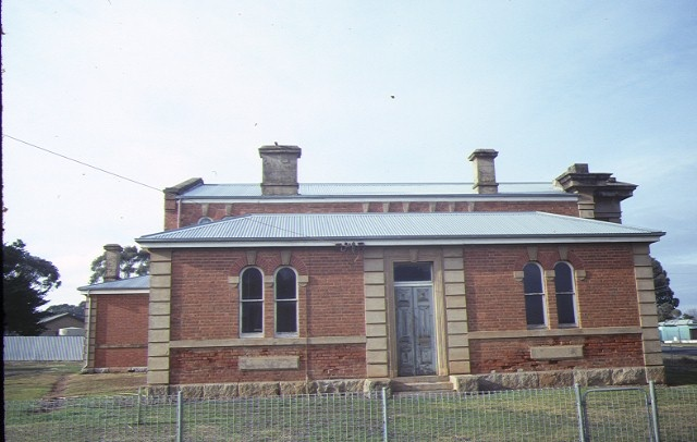 dunolly court house rear elevation aug1984