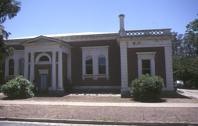echuca court house front elevation dec1983
