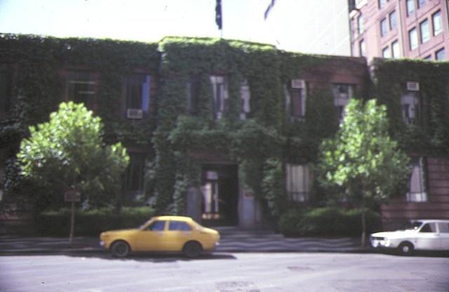 former high court building little bourke street melbourne front elevation jan1985