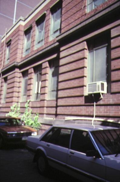 former high court building little bourke street melbourne side elevation jan1985