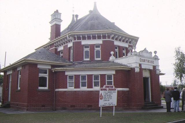 1 yarram court house south gippsland hwy yarram side elevation