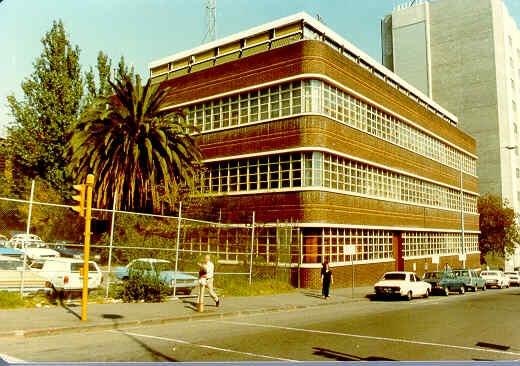 1 rmit building no 9 rear view 1982