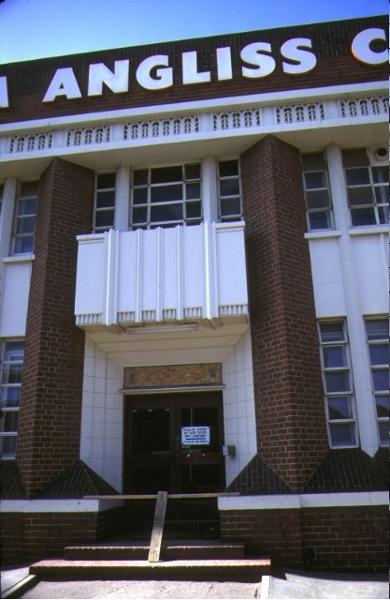 william angliss college la trobe street melbourne front entrance feb1985