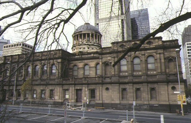 1 law courts william street melbourne side view