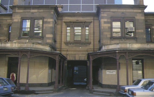 law courts william street melbourne entrance feb1986
