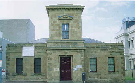 former telegraph station ryrie street geelong front view publication