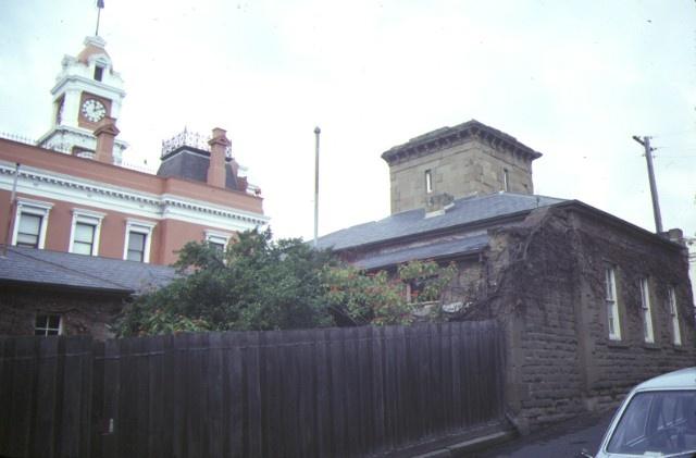 former telegraph station ryrie street geelong rear view jul1984