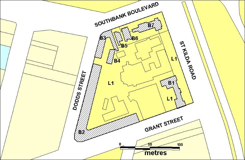 Former Police Depot plan