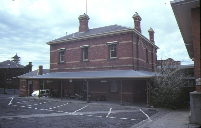1 former police station ballarat front view