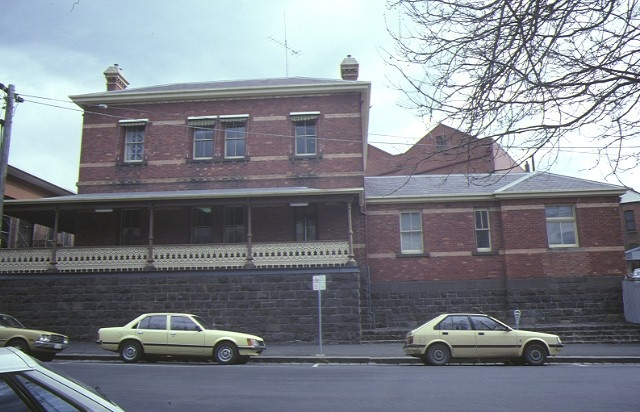 former police station ballarat rear view