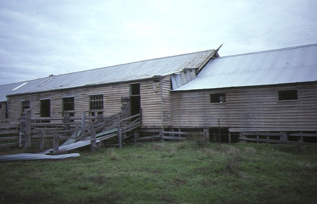 dhurringile prison murchison woolshed side view aug1984
