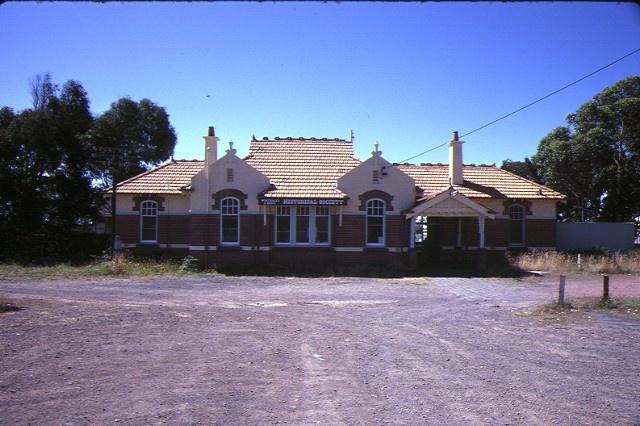 1 wonthaggi railway station front elevation jan1985